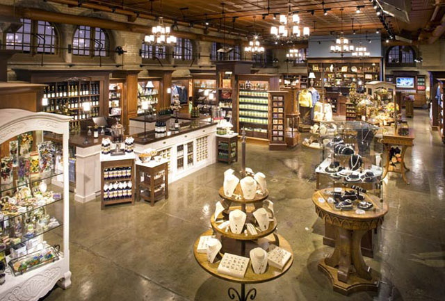 Hennessy Lighting Design Biltmore Gift Shop